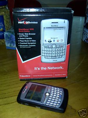 BlackBerry 8830 World Edition Verizon phone