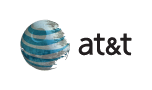 mock of new at&t logo with Death Star from Return of the Jedi